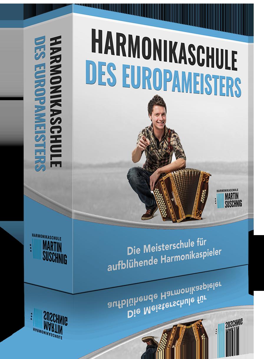 Harmonika spielen lernen Online Schule des Europameisters